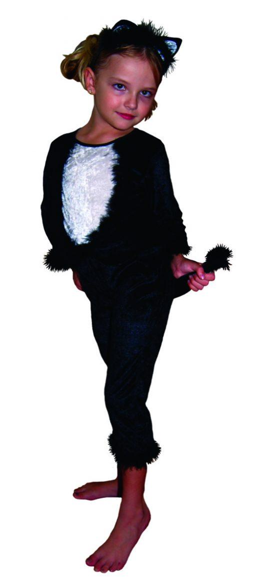 Balck cat chld costume
