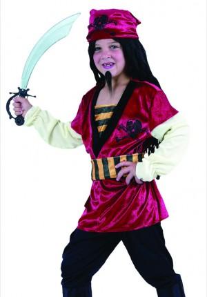 halloween boys pirate costume
