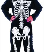 Little skeleton boy costume