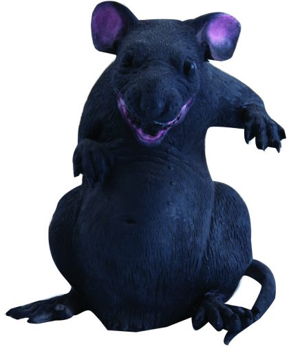 Fat rubber rat