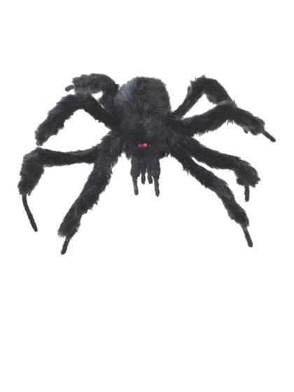 posable black spider
