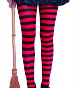 witch striped tights