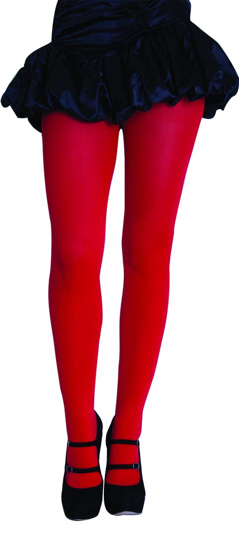 red pantyhose