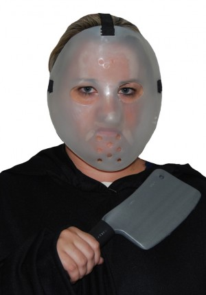 hockey mask with cleaver