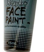 Black global face paint