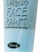 Light blue global face paint