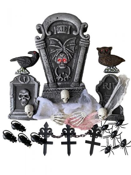 Tombstone decoration halloween