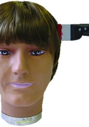 knife through head