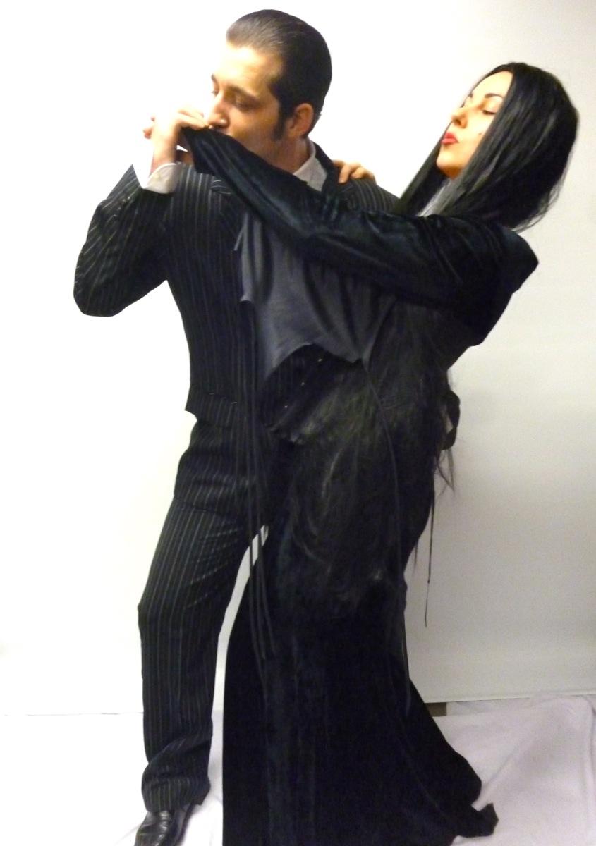Gomez and Morticia costume couple -Creative Costumes