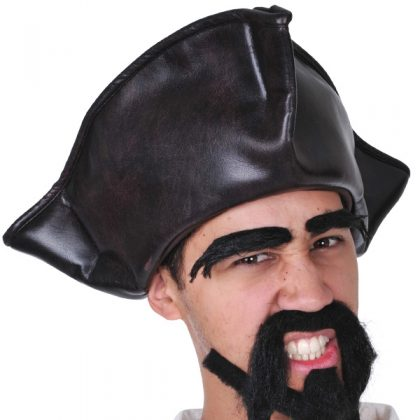 brown pirate hat