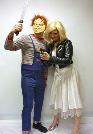Bride of Chucky couple