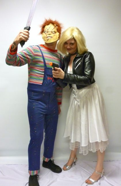 Bride of Chucky couple