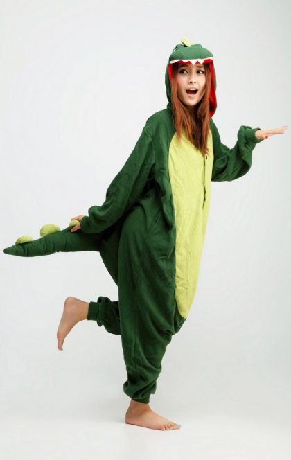 dinosaur animal onesie