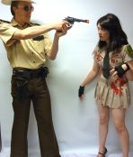 sheriff grimes couple costume