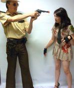 sheriff grimes couple costume