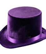 purple top hat