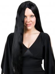 long black wig