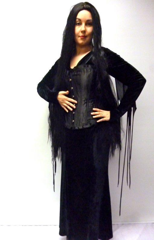 Morticia adams costume
