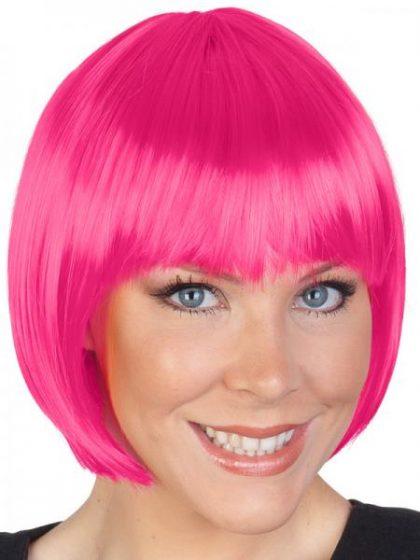 bob pink wig