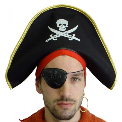 pirate crossbones hat