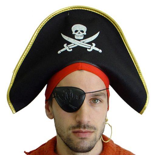 pirate crossbones hat