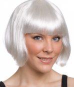 white bob wig
