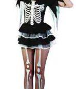 Skeleton girl costume