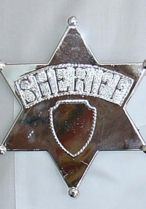 large sheriff badge