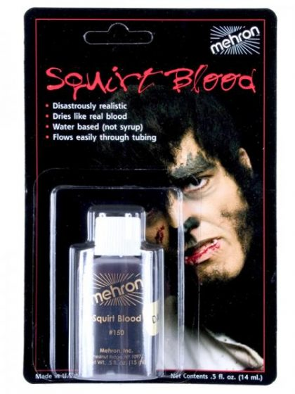 squirt blood mehron