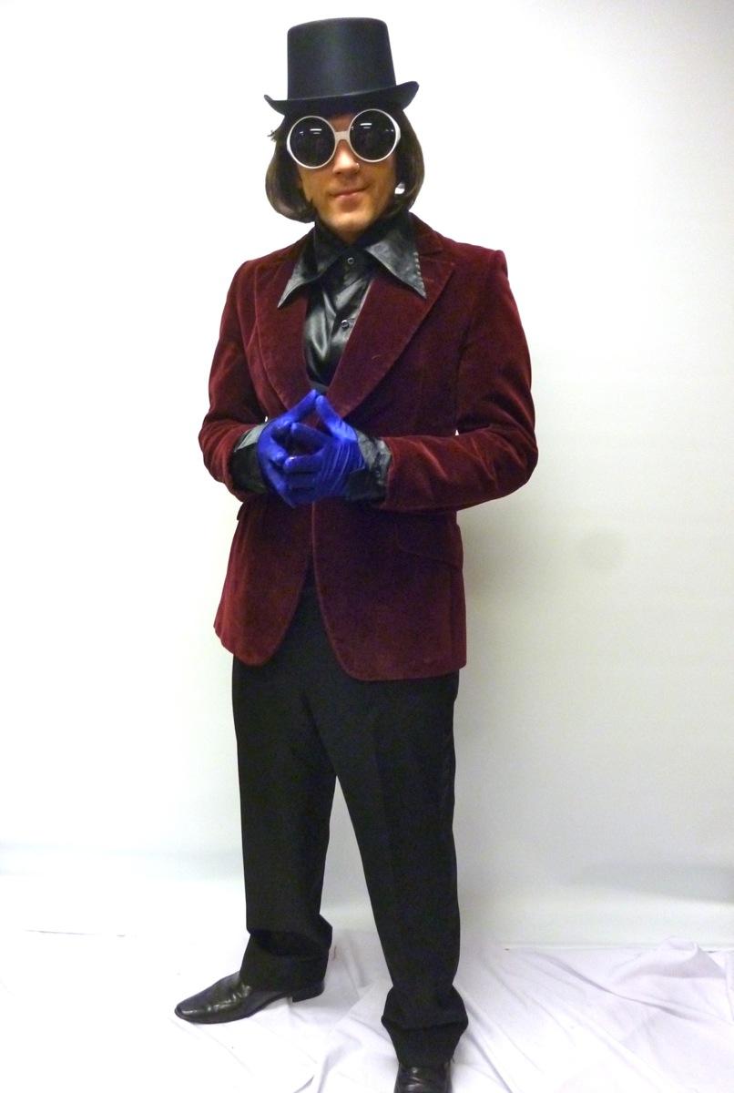 Willy Wonka costume -