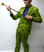 Riddler batman costume