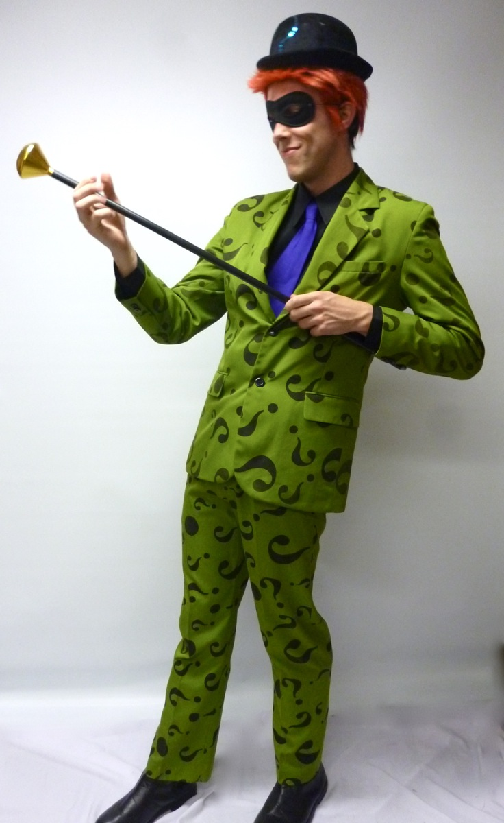 Riddler Costumes For Sale Riddler Batman Costume