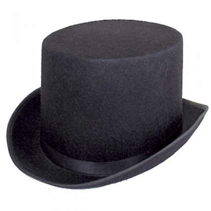 black top hat mens