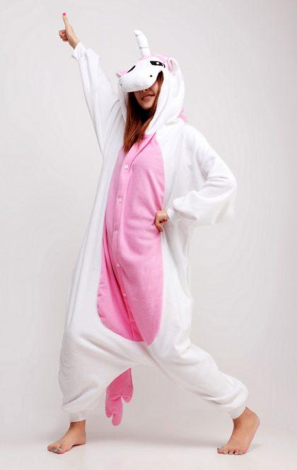 unicorn pink animal costume