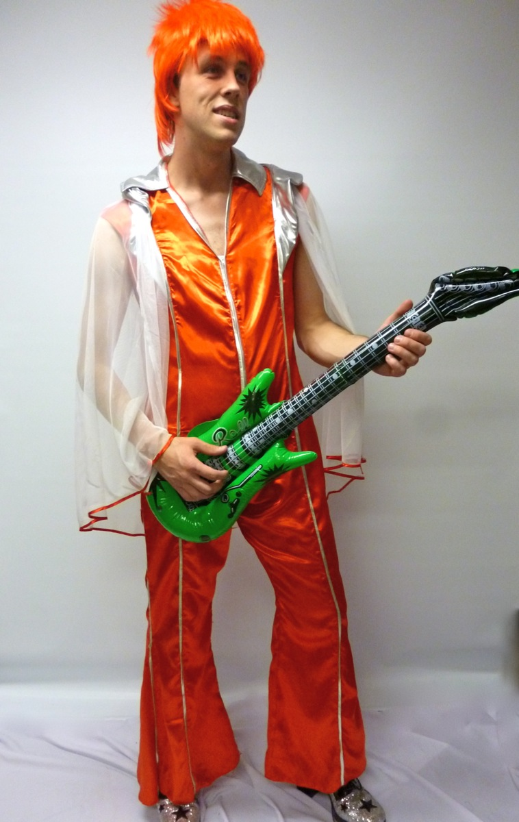 david Bowie costume  sc 1 st  Creative Costumes & Ziggy Stardust costume - Creative Costumes