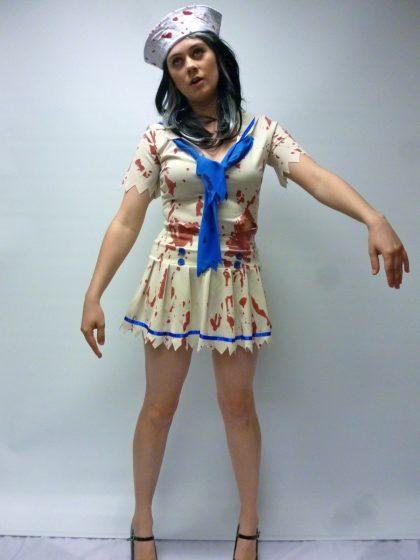 zombie costume female