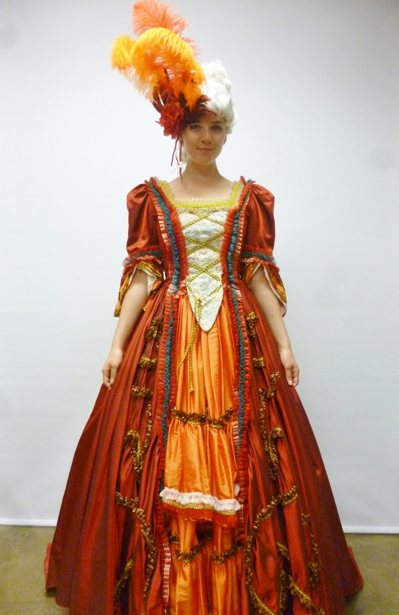 marie antoinette 18th century 1700 masquerade  sc 1 st  Creative Costumes & 18th Century ladies ballgownCreative Costumes