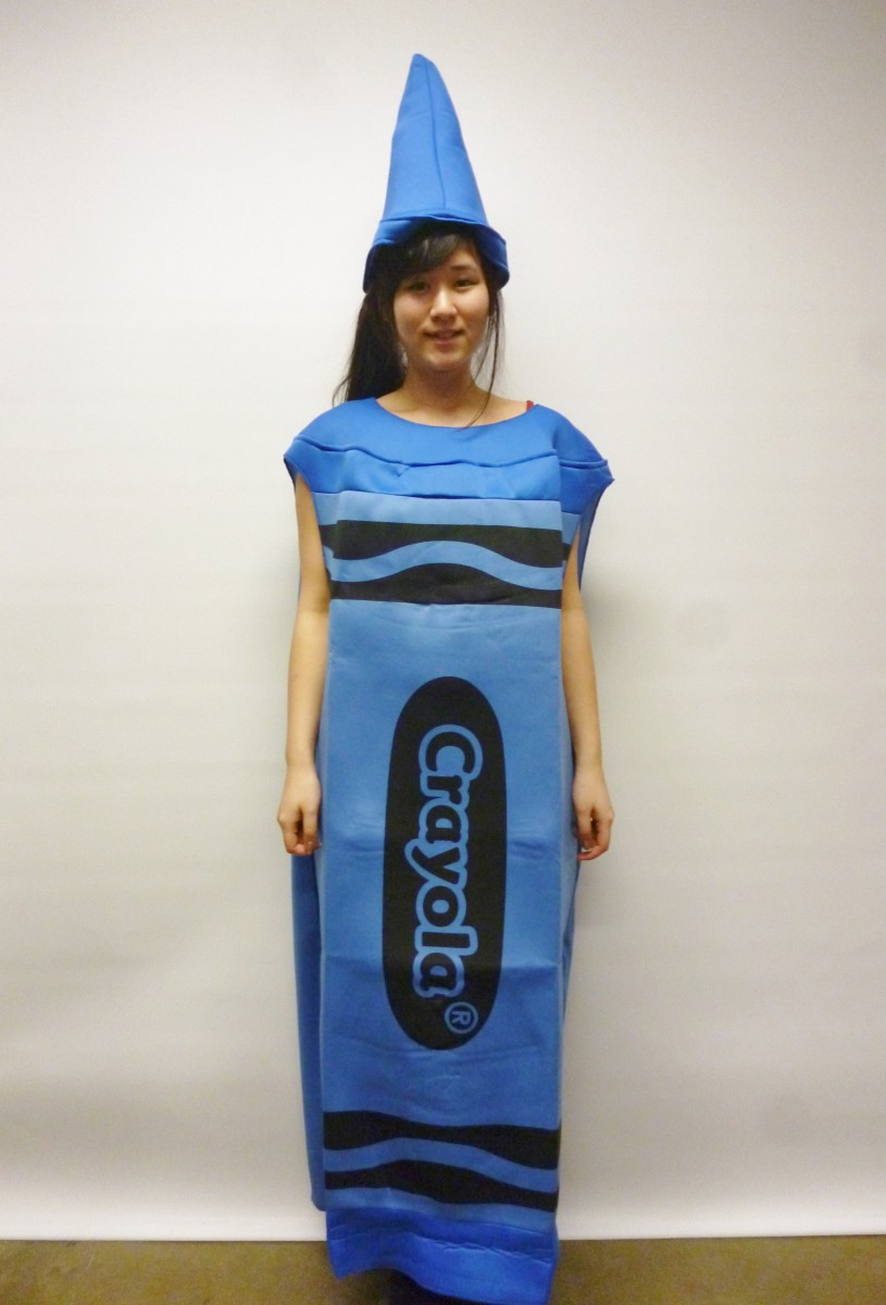 crayola crayon pencil  sc 1 st  Creative Costumes & Blue Crayola Crayon CostumeCreative Costumes