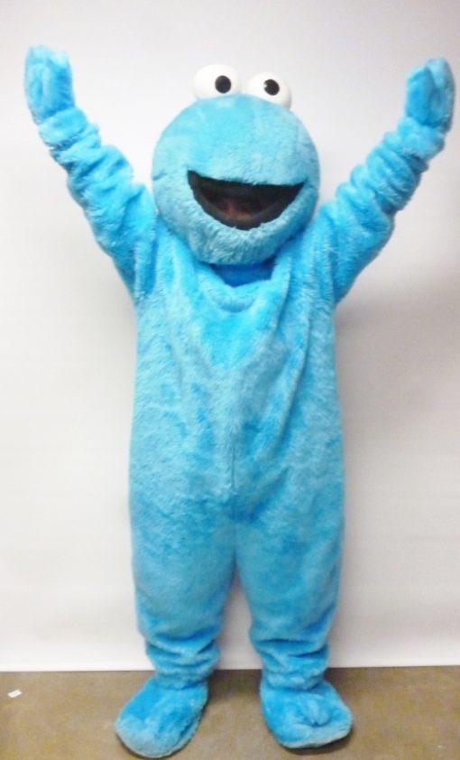 cookie sesame street elmo mascot
