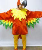 parrot bird red tropical