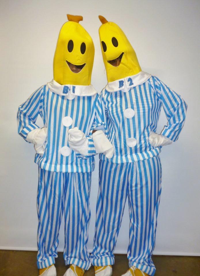 Bananas in Pajamas costume - Creative Costumes