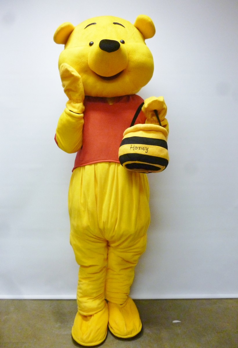 Winnie the Pooh Bear Costume : pooh bear and piglet costumes  - Germanpascual.Com