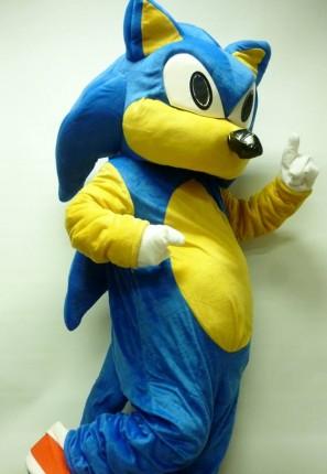 sonic the hedgehog mascot