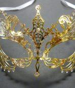 Venetian metal mask
