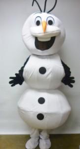 Olaf Frozen Snowman costume