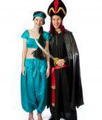 Princess jasmine and Jafar