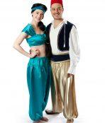 Jasmine and Aladdin costume