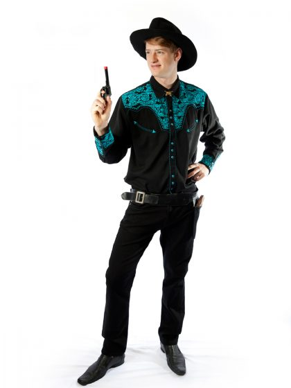 Western male costume