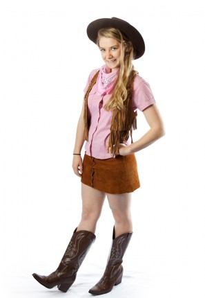 Western female costume