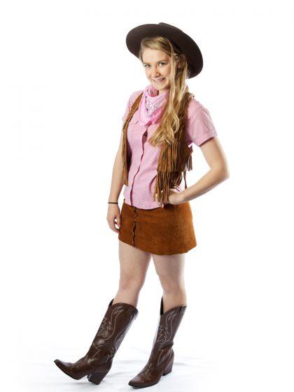Western female costume